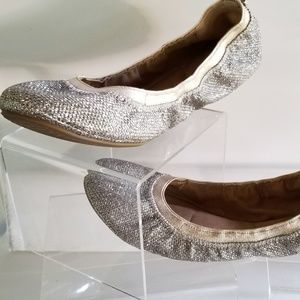 Bandolino Silver Ballet Flats